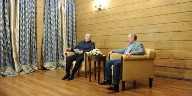 """""""Путина конспектирует"""". Лукашенко отличился во время встречи с президентом РФ в Сочи"""