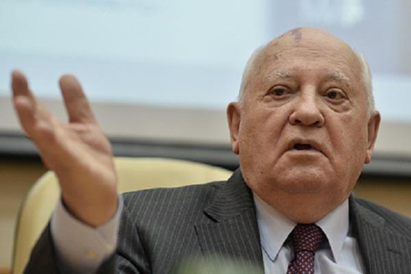 Объяснена причина съемок Горбачева в рекламе пиццы