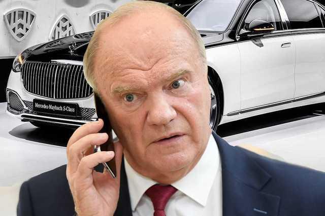 Откуда у лидера КПРФ Геннадия Зюганова деньги на дорогие машины
