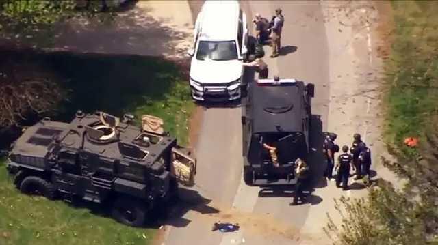 В Северной Каролине во время 13-часовой перестрелки погибли пять человек, включая двух полицейских
