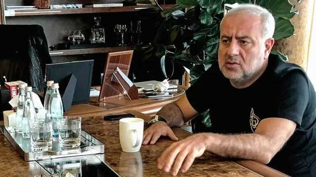 Украинский бизнесмен Гранц празднует день рождения на Кипре в компании политиков и юмориста Реввы