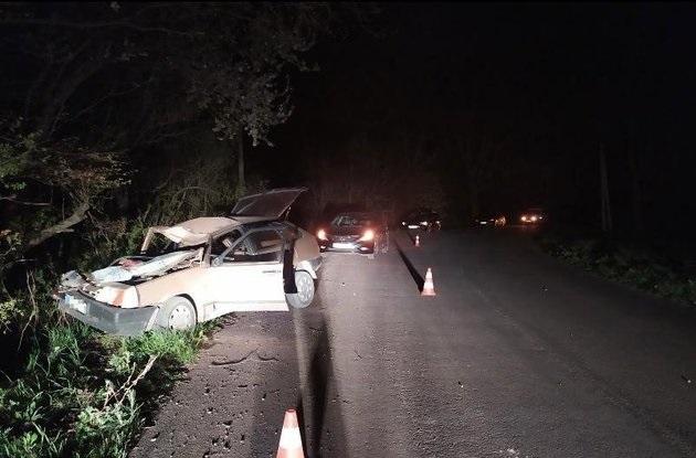 Водитель, пребывая под воздействием наркотиков, врезался в дерево на Львовщине, погибла его жена, - Нацполиция