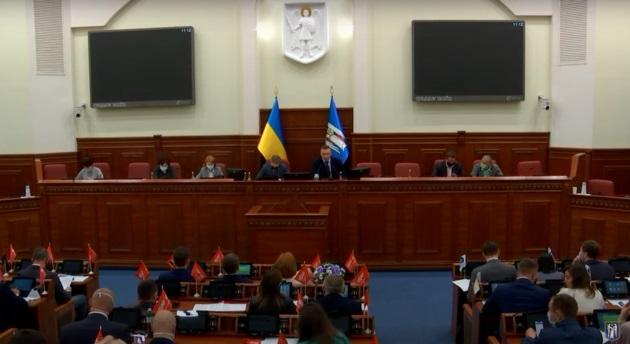 Кличко на сессии Киеврады прямо обвинил Банковую в политическом заказе и давлении