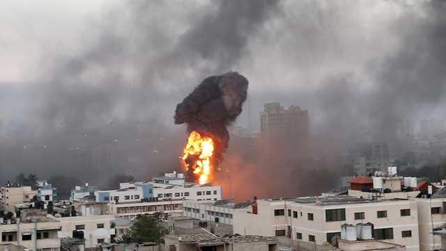 Из сектора Газа одновременно запустили десятки ракет по Израилю, «Железный купол» не справился