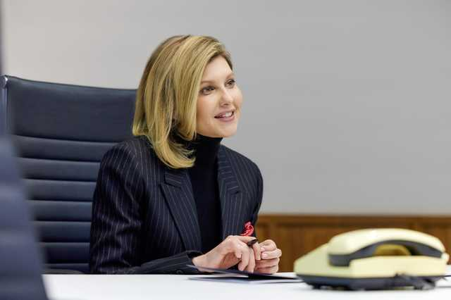 Зеленская рассказала о золотых люстрах и мраморных ваннах на президентской госдаче