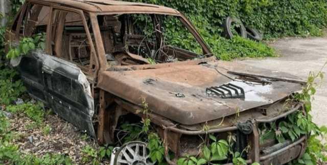 Пасынок Кернеса показал авто, в котором чуть не сгорели заживо его отчим и мать