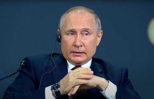 Путин о блокировке в Интернете: «Я плевать хотел»