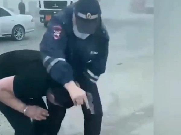 Супруга гаишника, застрелившего азербайджанца, обратилась к Путину и ФСБ