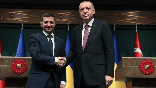 Эрдоган пожаловался Зеленскому на угрозы от Путина — СМИ