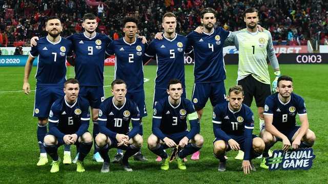 Сборная Шотландии отказалась преклонять колено в поддержку BLM перед матчами на Евро-2020