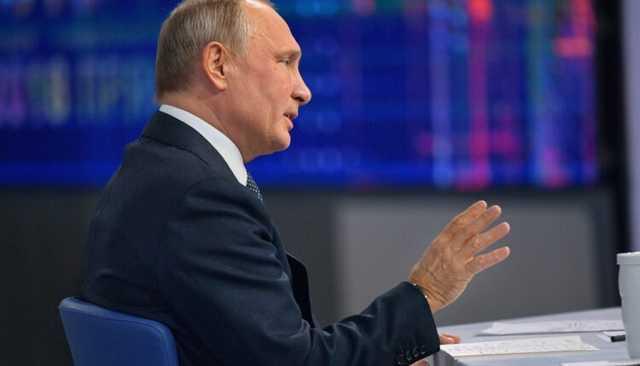 Путин заявил, что не отдавал приказа убить Навального