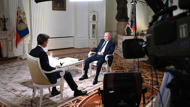 Американский журналист рассказал, о чем говорил с Путиным без камер