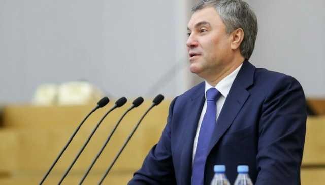 В Госдуме некто вновь голосует за спикера Вячеслава Володина в его отсутствие
