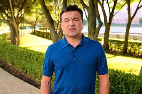 Губернатор Подмосковья вакцинировался третий раз
