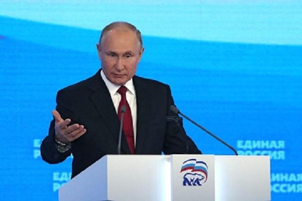 Путин заявил об уверенности в победе «Единой России» на выборах в Госдуму