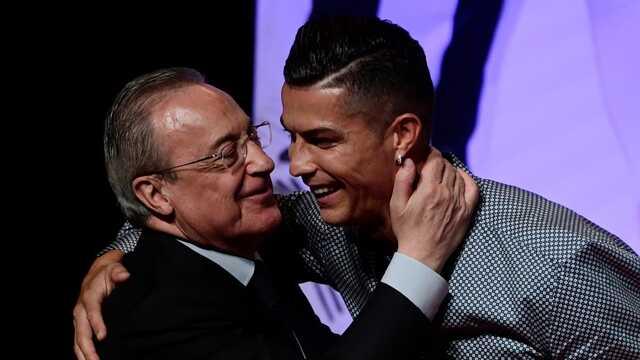 Появилась аудиозапись, где президент «Реала» называет Роналду «идиотом, сумасшедшим и больным»