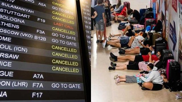 300 рейсов отменили: самый загруженный аэропорт Лиссабона парализован из-за забастовок