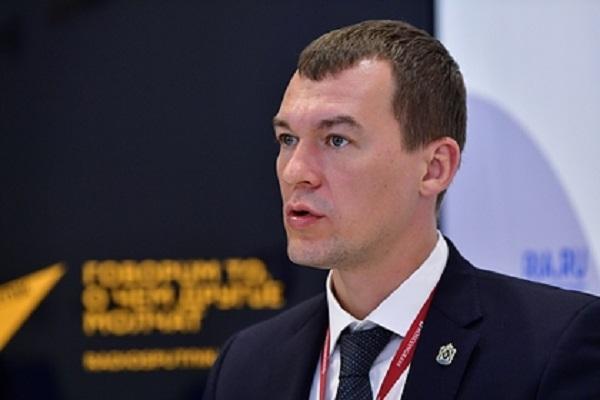 Стали известны итоги года работы Дегтярева на посту главы Хабаровского края
