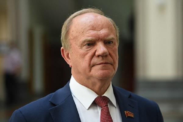 Зюганов подтвердил участие Грудинина в выборах