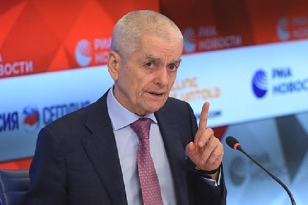 Онищенко высказался о наказании за призывы к отказу от вакцинации