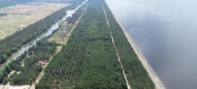 Полиция Киевщины купила гектар земли возле озера в Буче за 2 тыс. грн