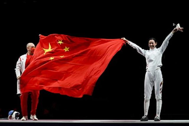 Китай возглавил медальный зачёт после первого дня Олимпиады