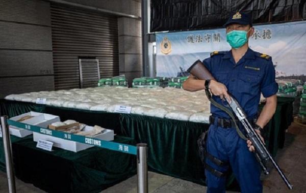 Кокаин под видом продукта для здорового питания: таможня Гонконга конфисковала три крупные партии наркотиков