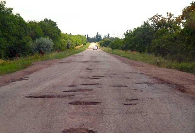 В Кировоградской области на ремонте дорог украли 10 млн гривен