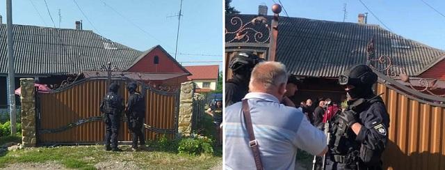 К жителю Буковины, облившему преподавателя фекалиями, на обыски нагрянул спецназ