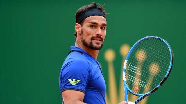 Итальянский теннисист извинился, что пять раз назвал себя п***ром в поединке с россиянином