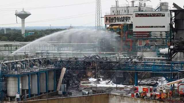 Выросло количество жертв взрыва на химическом предприятии в немецком Леверкузене