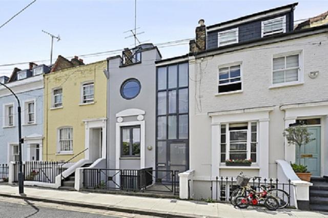 В Лондоне нашли суперузкий дом