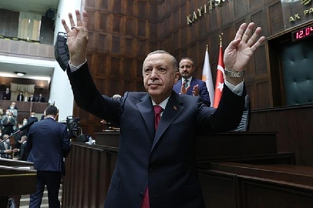 Эрдоган поблагодарил Путина за помощь с лесными пожарами