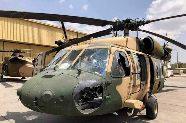 Появилось видео, как американские военные портили технику перед уходом из Афганистана