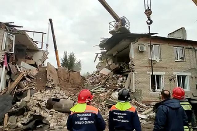 Семьи погибших при взрыве под Ельцом получат по миллиону рублей