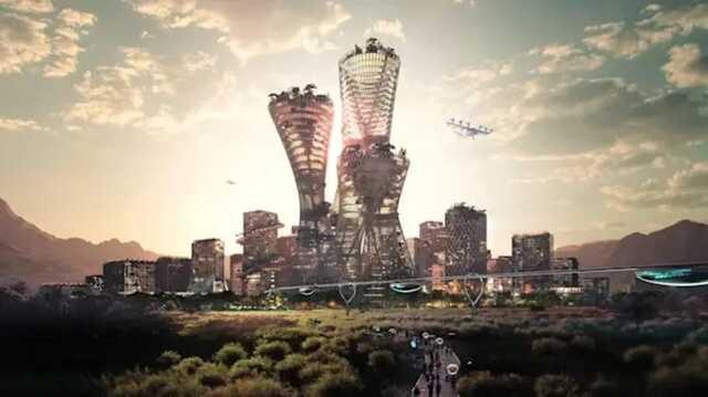 В США хотят построить среди пустыни город будущего за $400 миллиардов