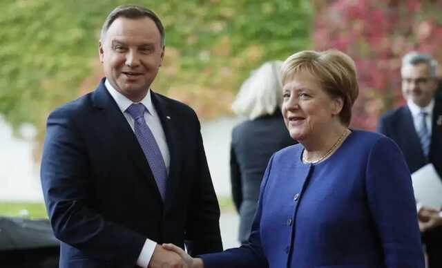 «Возмездие за СП-2 и немецкое высокомерие»: СМИ назвали версии, почему Дуда не встретился с Меркель