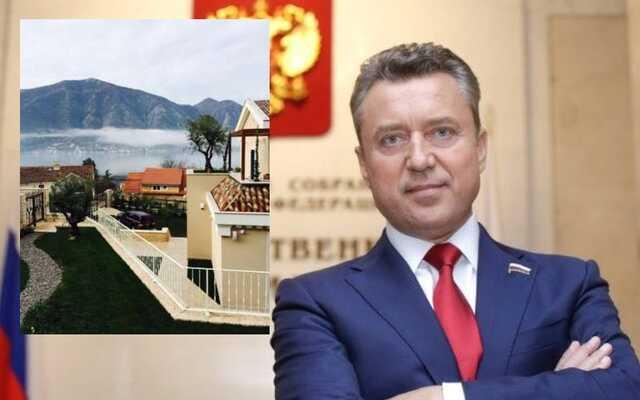 Появились снимки виллы в Черногории, которой владеет сын депутата от «Единой России» Анатолия Выборного