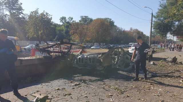 Взрыв автомобиля в Днепре рассматривают как теракт
