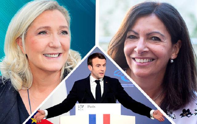 Макрона атакуют две женщины: что происходит во Франции