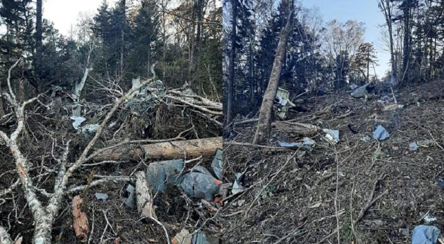 СКР: обнаружены останки шестерых членов экипажа, разбившегося Ан-26