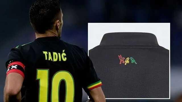 """УЕФА запретил """"Аяксу"""" играть в форме с тремя разноцветными птицами на спине"""