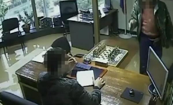 Попытка покушения на российского бизнесмена попала на видео