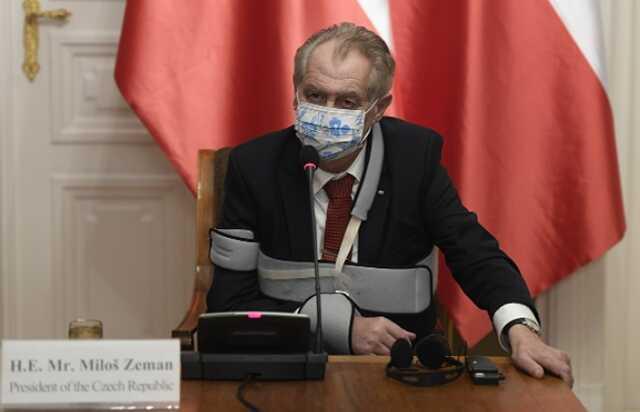 Президент Чехии Милош Земан экстренно госпитализирован после выборов