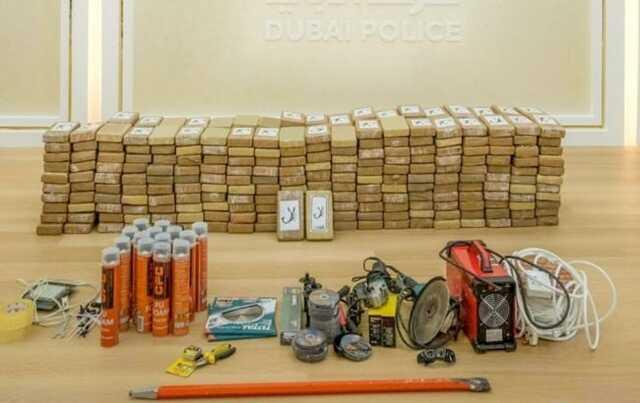 В Дубае в ходе рейда изъяли полтонны кокаина более чем на 130 млн долларов