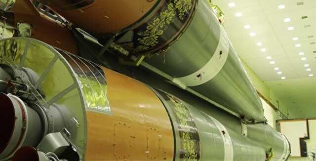 Роскосмос раскрасил ракету «Союз» под хохлому