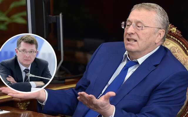 Лидер ЛДПР Владимир Жириновский поможет депутату Сергею Жигареву стать губернатором