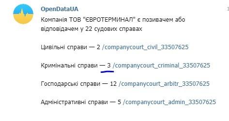 Монополизация Одесского порта
