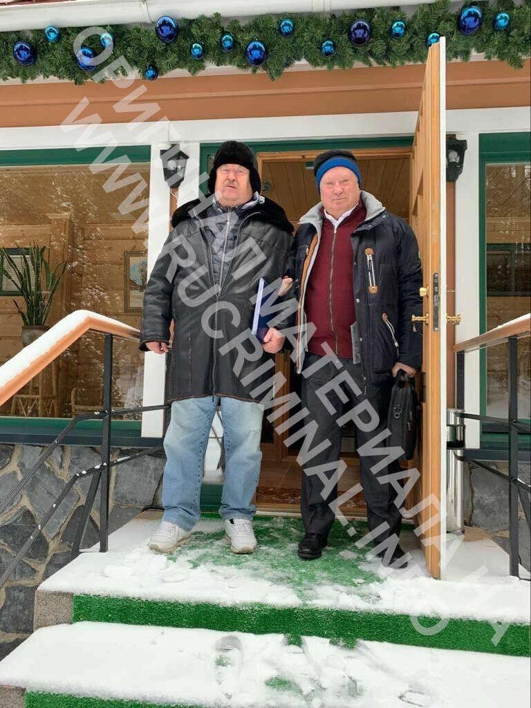 Виктор Хмарин и Николай Егоров